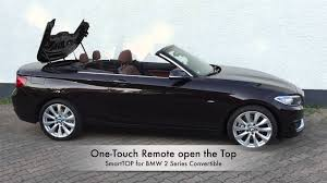 mods4cars SmartTOP for BMW 2 Series Convertible e Touch open