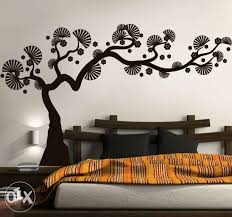 Wall Painting Designs For Bedroom Extraordinary Decor With Goodly
