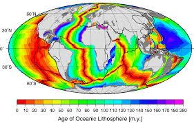 Sea Floor Spreading Subduction Animation by Seafloor Spreading Wikipedia