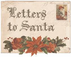 KaiserCraft Letters To Santa A Cherry Top