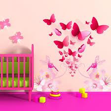dessin chambre bébé stickers chambre bébé florilège de papillons enchanteurs