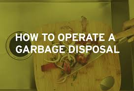 Badger Sink Disposal Manual by How To Use A Garbage Disposal Insinkerator