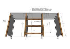 Sewing Cabinet Plans Build by Ana White Hidden Desk Apothecary Cabinet Diy Projects