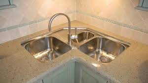 L Shaped Sink Captivating Kitchen With Corner Video And Photos Decorating Inspiration