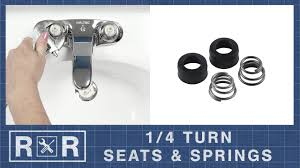 Delta Mandara 8 Faucet by 1 4 Turn Seats U0026 Springs Repair And Replace 2 Handle Bathroom