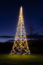 Flagpole Christmas Tree Lighting 8 M 2666 Ft