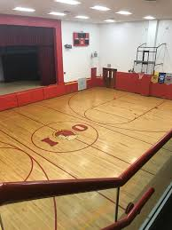 100 Four Seasons Miami Gym The College Corner Ohio Gym Midcourt Stripe Has A Strange