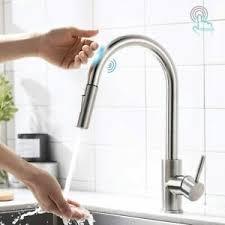 Kテシche Wasserhahn Mit Brause Touch Sensor Wasserhahn Küche Armatur Küchenarmatur Mit