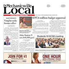 04/22/2015 By The Mechanicsville Local - Issuu