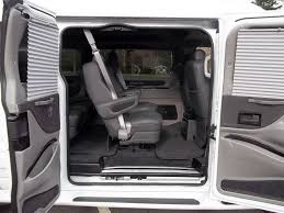 Conversion Van Rental Side Door