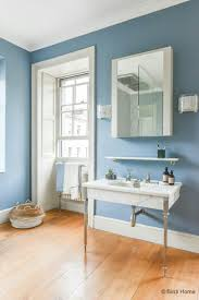 Denim Drift For Bathroom Wall. No Limita For Such Color!!! | For The ... Attractive Color Ideas For Bathroom Walls With Paint What To Wall Colors Exceptional Modern Your Designs Painted Blue Small Edesign An Almond Gets A Fresh Colour Bathrooms And Trim Match Best 9067 Wonderful Using Olive Green Dulux Youtube Inspiration Benjamin Moore 10 Ways To Add Into Design Freshecom The For