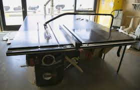 Sawstop Cabinet Saw Used by Creative Workshops Pier 9 San Francisco Autodesk