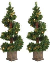 5 Ft Pre Lit Multicolor Christmas Tree by Amazing Deal On 3 5ft Pre Lit Artificial Christmas Tree 2 Pc