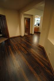 staining hardwood floors darker before and after refinishing