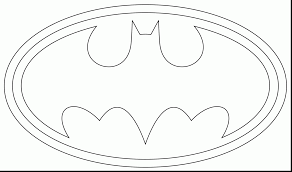 Surprising Batman Logo Coloring Page With Free Pages And Online