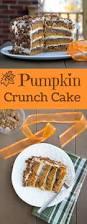Best Pumpkin Cake Ever by Check Out Pumpkin Crunch Cake It U0027s So Easy To Make Pumpkin