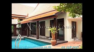 100 Thai Modern House RENT MODERN THAI HOUSE WITH POOL IN SUKHUMVIT BANGKOK EKKAMAI BTS