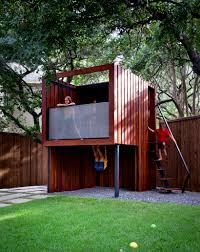 Hello, Wonderful - 10 FASCINATING MODERN PLAYHOUSES | For The Home ... Best 25 Treehouse Kids Ideas On Pinterest Kids Treehouse Designs And Youtube Play Houses Forts For Hip Cubby House Outdoor Backyard Wooden Houses 371 Best Extreme Playhouses Images Playhouse Registration Simple Amazoncom Kidkraft Toys Games Outside Play In This Fun Fort With Bridge Rockwall Decoration Ideas Adorable Brown Castle Style This Kidfriendly Backyard Renovation Took Only 3 Weeks To Fabulous Tree Design Which Is Completed With Unique Yard Games