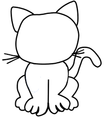 Fresh Inspiration Coloring Pages Of A Cat Cartoon Printable Png 538x600