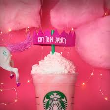 The Cotton Candy Frappuccino Is Here FanFlavors T