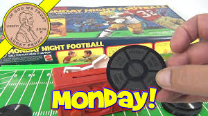 ABC Sports Talking Monday Night Football Board Game 1977 By Mattel Toys