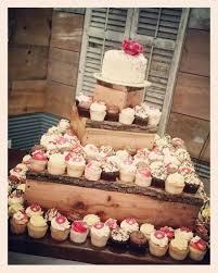 Rustic Cake Cupcake Combo