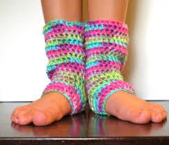 pattern kid yoga socks leg warmers easy crochet dance
