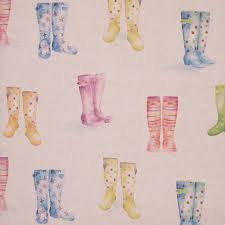 Curtain Fabric John Lewis by Gordon Smith Malvern Ltd Voyage Welly Boots Curtain Fabric