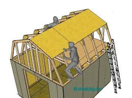 12x16 Slant Roof Shed Plans by Shed Roof Building A Shed Roof Roof Framing