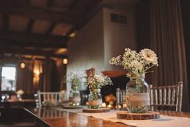 Rustic And Romantic Wedding Table Decorations