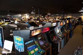 Enlarge Row Upon Of Vintage Arcade Games