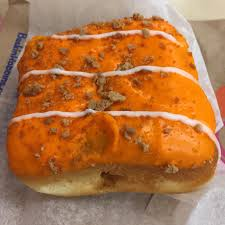 Dunkin Donuts Pumpkin Donut Calories by Dunkin Donuts Pumpkin Cheesecake Square Review Fast Food Geek