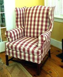 Buffalo Check Chair Plaid Rocking Cushions Red Dining
