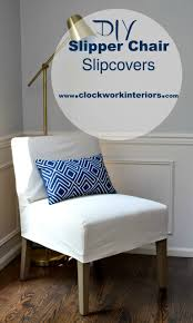 How To Make Slipper / Occasional Chair Slipcovers ... Attractive Small Armchair Slipcover Chair T Cushion 2 Piece Coley White Linen Armless Cisco Brothers Seda With Swivel Essentials Collection And How To Dvd Giveaway Flexsteel Ding Room Side Ca60519 Matter Make Arm Slipcovers For Less Than 30 Howtos Details About Fniture Of America Bord Classic Chairs Set Muse Weathered Pepper Upholstered Parsons 2count Soothing Models With Wing Savile Washed Gray