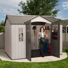 Rubbermaid Storage Shed Accessories Big Max by 60118 71 25 Square Ft 494 5 Cubic Ft The Lifetime 10 U0027 X 8