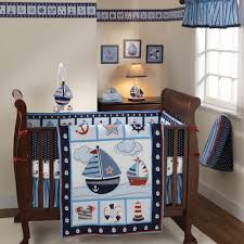 Bedtime Originals by Lambs & Ivy Sail Away 3pc Crib Bedding Set