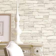großhandel vintage ziegelstein tapete 3d weiß schwarz moderne papel parede wandpapier 3d wasserdichte tapete für wohnzimmer hintergrund tapeten