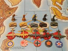 Axis Allies Player Pieces
