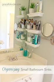 Pedestal Sink Storage Cabinet by Bathroom Sink Under Sink Shelf Under Bathroom Sink Storage Ideas