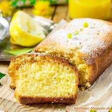 schneller saftiger low carb zitronenkuchen rezept ohne zucker