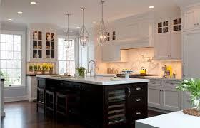 impressive glass island lights glass pendant lights for kitchen