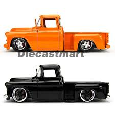 JADA JUST TRUCKS 1:24 1955 CHEVY STEPSIDE PICK UP TRUCK DIECAST ...
