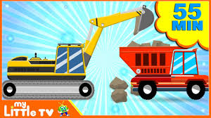 JCB Excavator | Digger Cartoons | Bulldozer | Dump Truck For Kids ... Garbage Truck Videos For Children Toy Bruder And Tonka Diggers Truck Excavator Trash Pack Sewer Playset Vs Angry Birds Minions Play Doh Factory For Kids Youtube Unboxing Garbage Toys Kids Children Number Counting Trucks Count 1 To 10 Simulator 2011 Gameplay Hd Youtube Video Binkie Tv Learn Colors With Funny