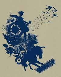 World Worth Saving Collage Silkscreen Art Print Poster Screenprinted