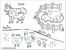 Farm Animal Coloring Pages For Adults Color With Music Wild About