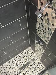 marvelous master bathroom with adorable shower floor tile ideas of