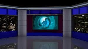 Tv Set Green Screen Loop Stock News Studio Background 1920x1080 Virtual Vizrt Free Virtualset Jpg