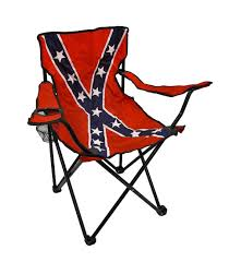 100 Stupid People And Folding Chairs Confederate Flag Nylon Camp Chair From Amazon
