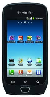 Samsung Exhibit 4G Android Phone Black T Mobile for more details visit