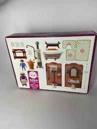 playmobil 5324 badezimmer rosa serie